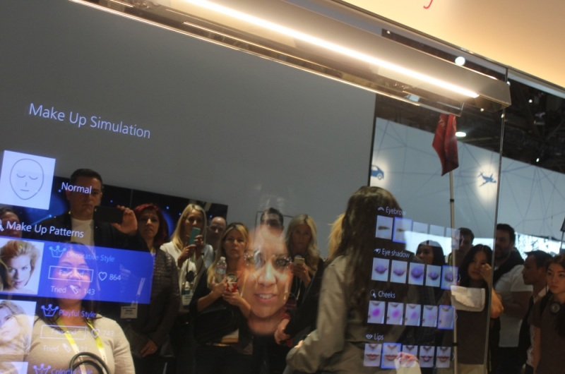 Panasonic interactive mirror