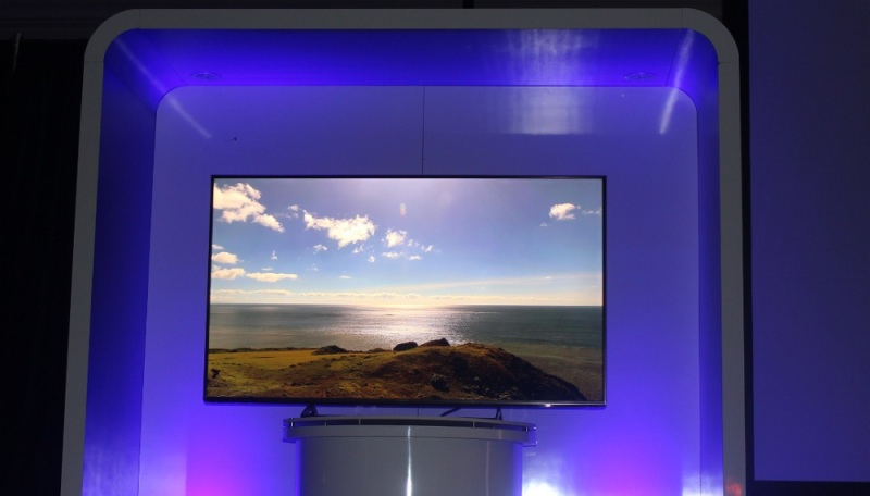 Panasonic UltraHD TV at CES 2015.
