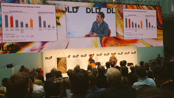 Rocket Internet CEO Oliver Samwer speaks at the DLD conference in Munich Germany.