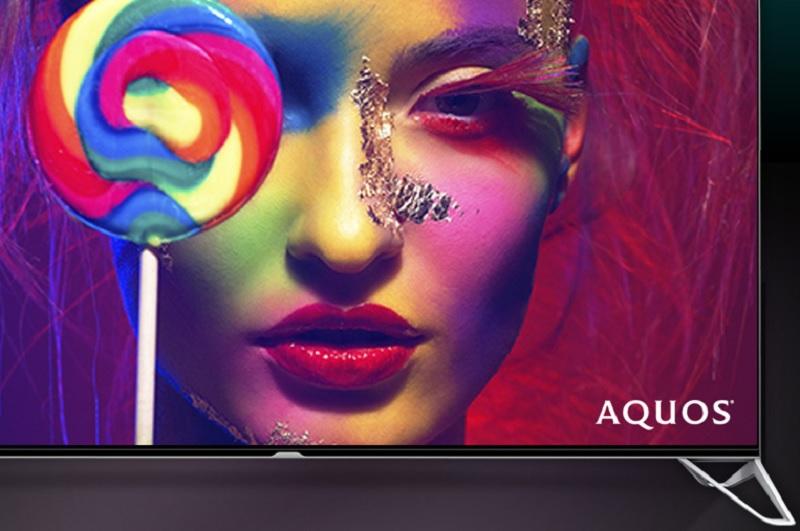 Sharp's UltraHD TV goes beyond 4K in resolution