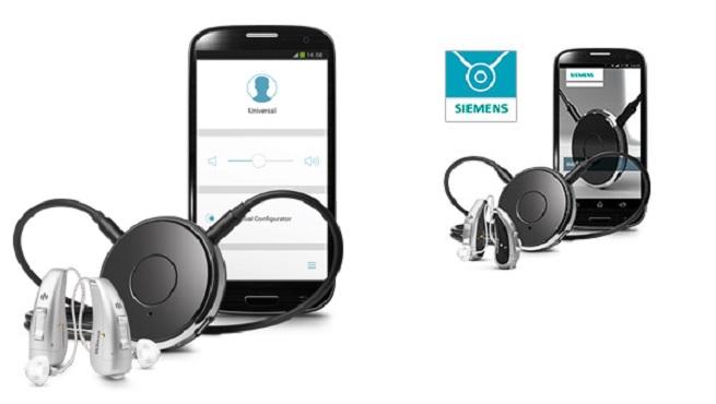 Siemens EasyTek system for smart hearing aids