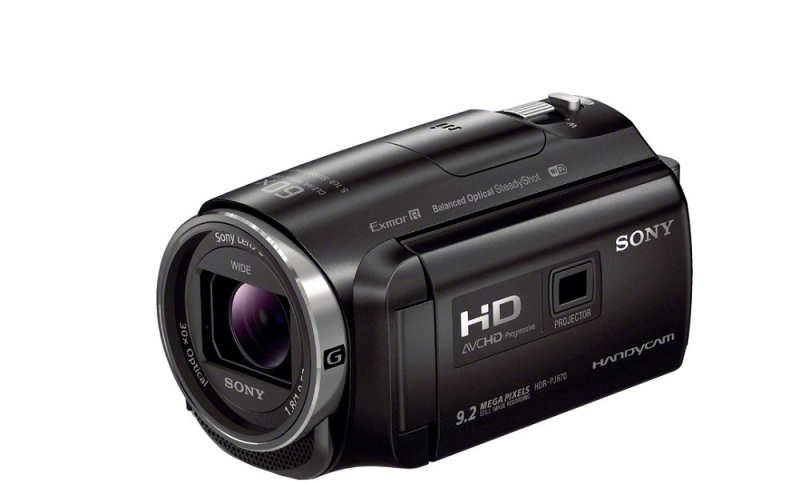 Sony HDR-PJ670 camcorder