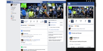 Facebook wants to own your Super Bowl Sunday