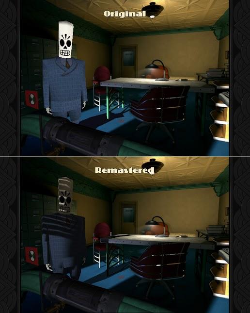 A graphics comparison.