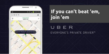 This is exactly how taxis should respond to Uber