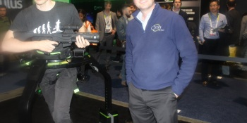 Virtuix shows off final Omni Treadmill to take virtual reality beyond the chair