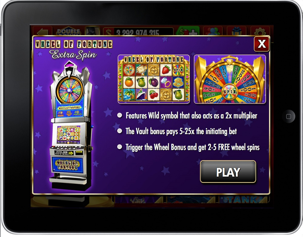 IGT's DoubleDown Casino launches Wheel of Fortune Extra Spin mobile slots game - GamesBeat - Games - by Dean Takahashi IGT's DoubleDown Casino launches Wheel of Fortune Extra Spin mobile slots game - 웹
