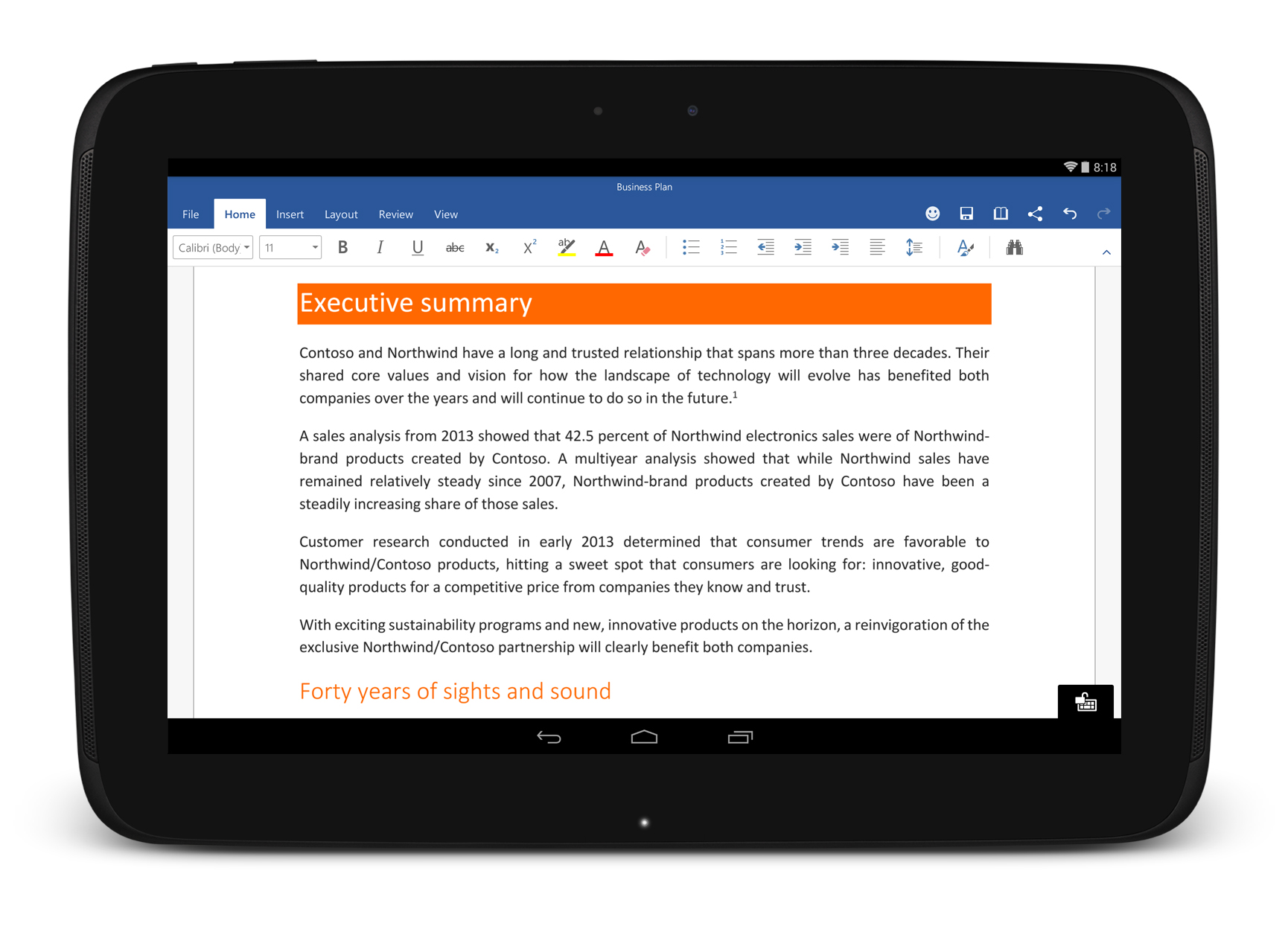 Get Office for Android