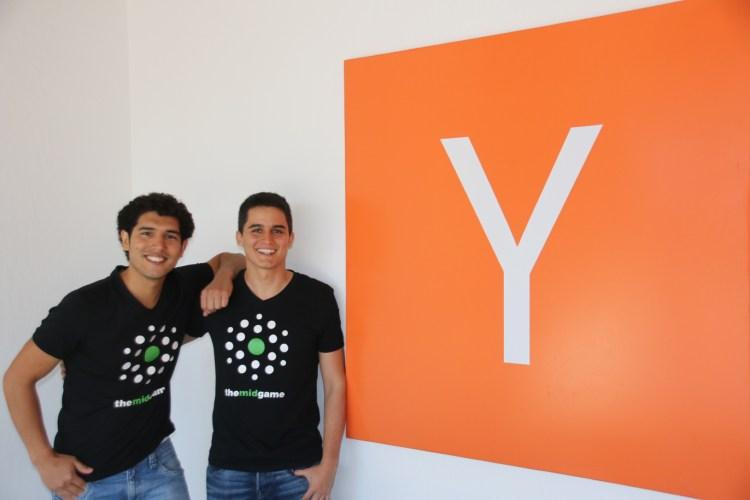 Themidgame cofounders Carlos Saavedra and Andrés Felipe Diaz