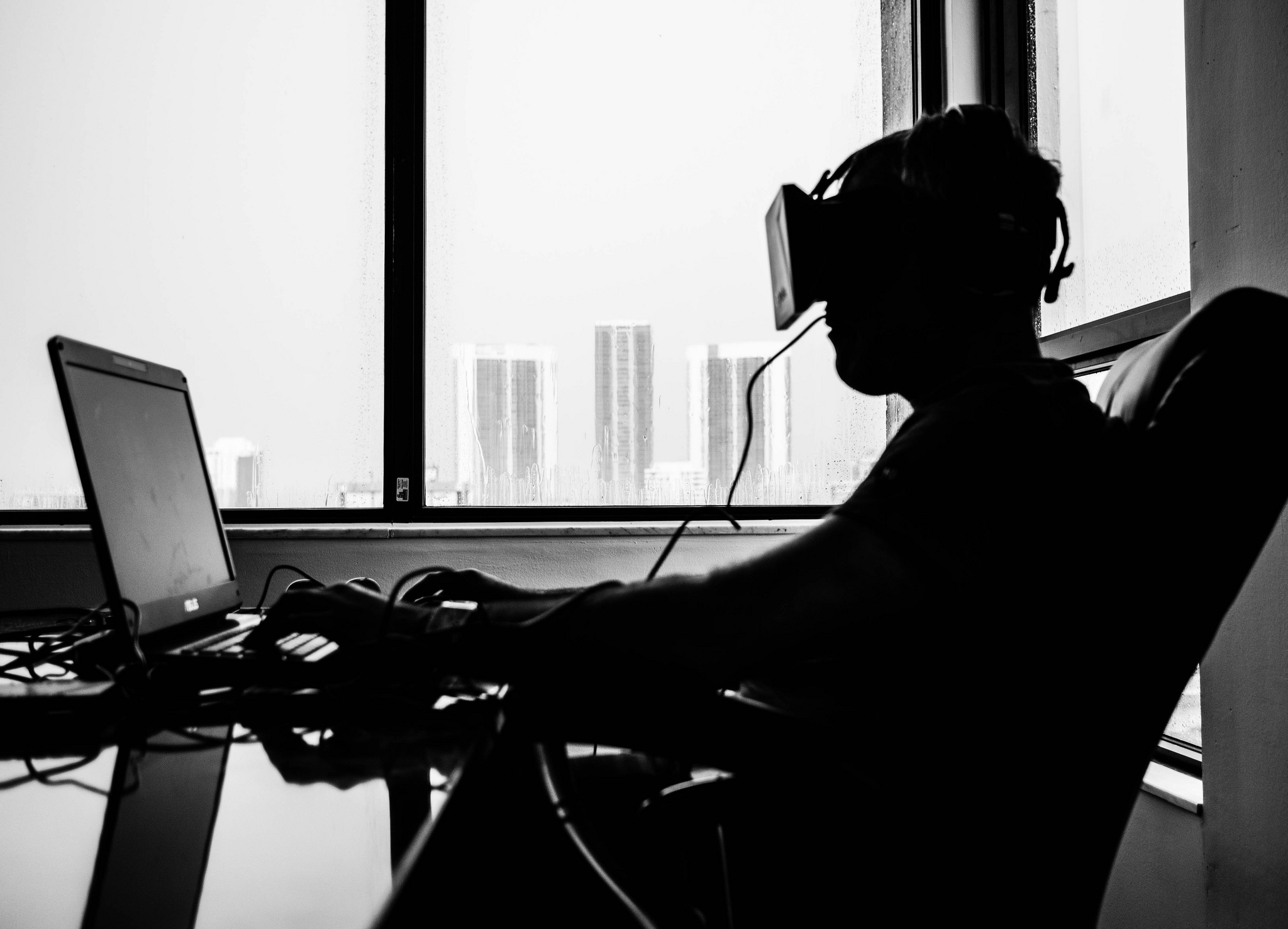 There's been very little research on long-term extended VR use.