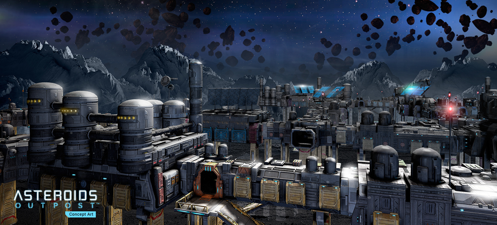 Asteroids Outpost City
