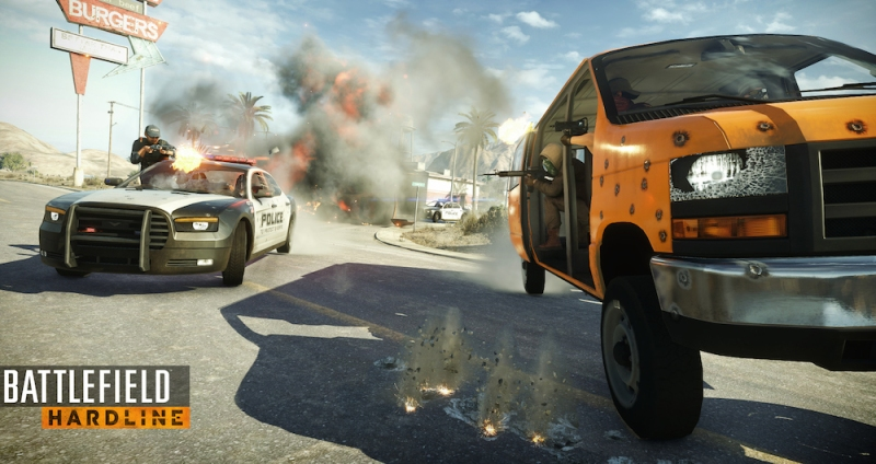 You might be surprised how useful a side gunner can be in Hardline.