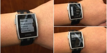 Smartwatch maker Pebble now supports Android Wear notifications