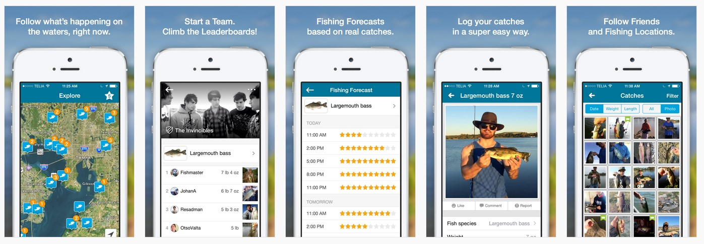 Marc andreessen was right people do love to fish for Fish brain app