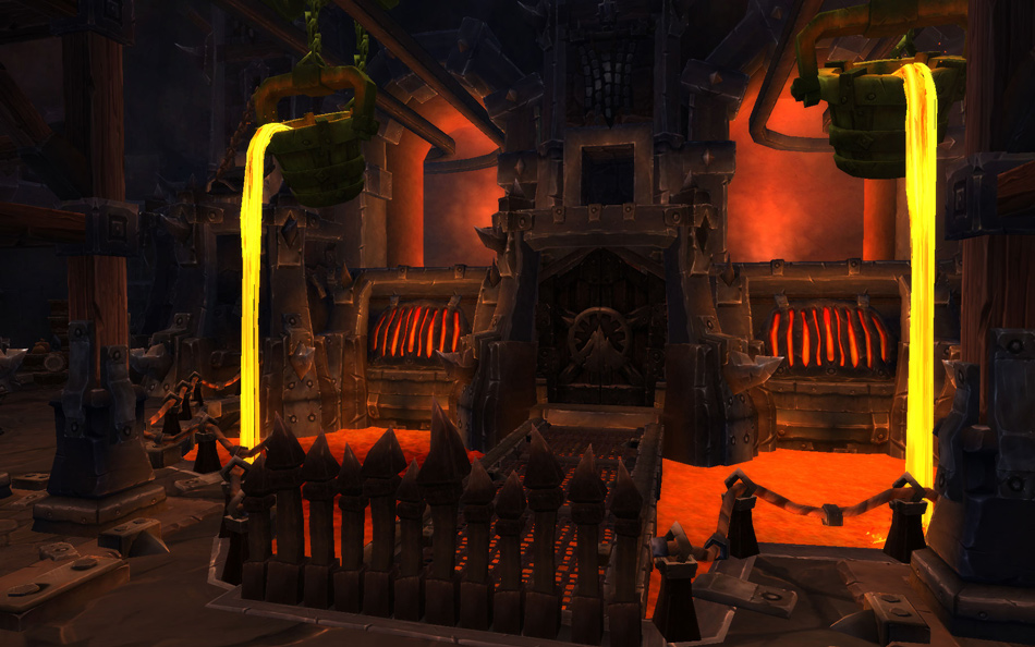 World of Warcraft Blackrock Foundry dungeon