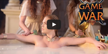 Watch swimsuit model Kate Upton's Game of War Super Bowl ad right here