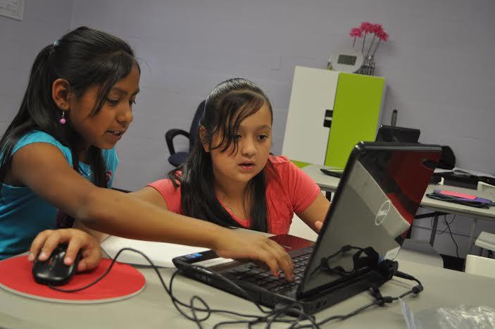 Girlstart allows girls to explore their creativity through technology.