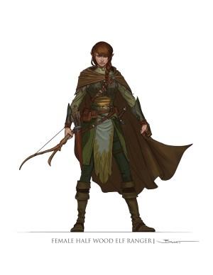 Note: N-Space president Dan Tudge is fond of elf rangers.