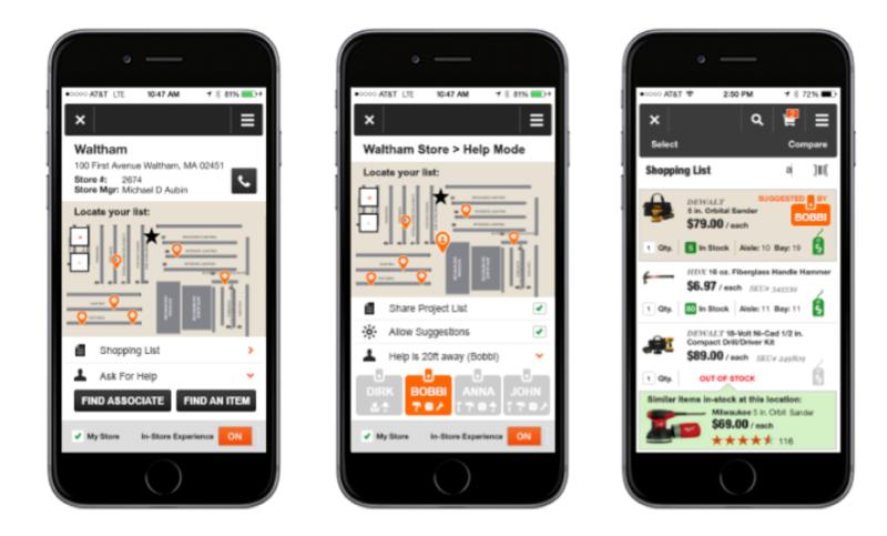 Home Depot App