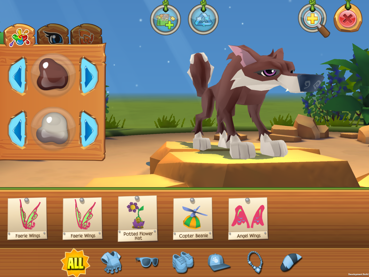 Kids can customize their avatars in Animal Jam.