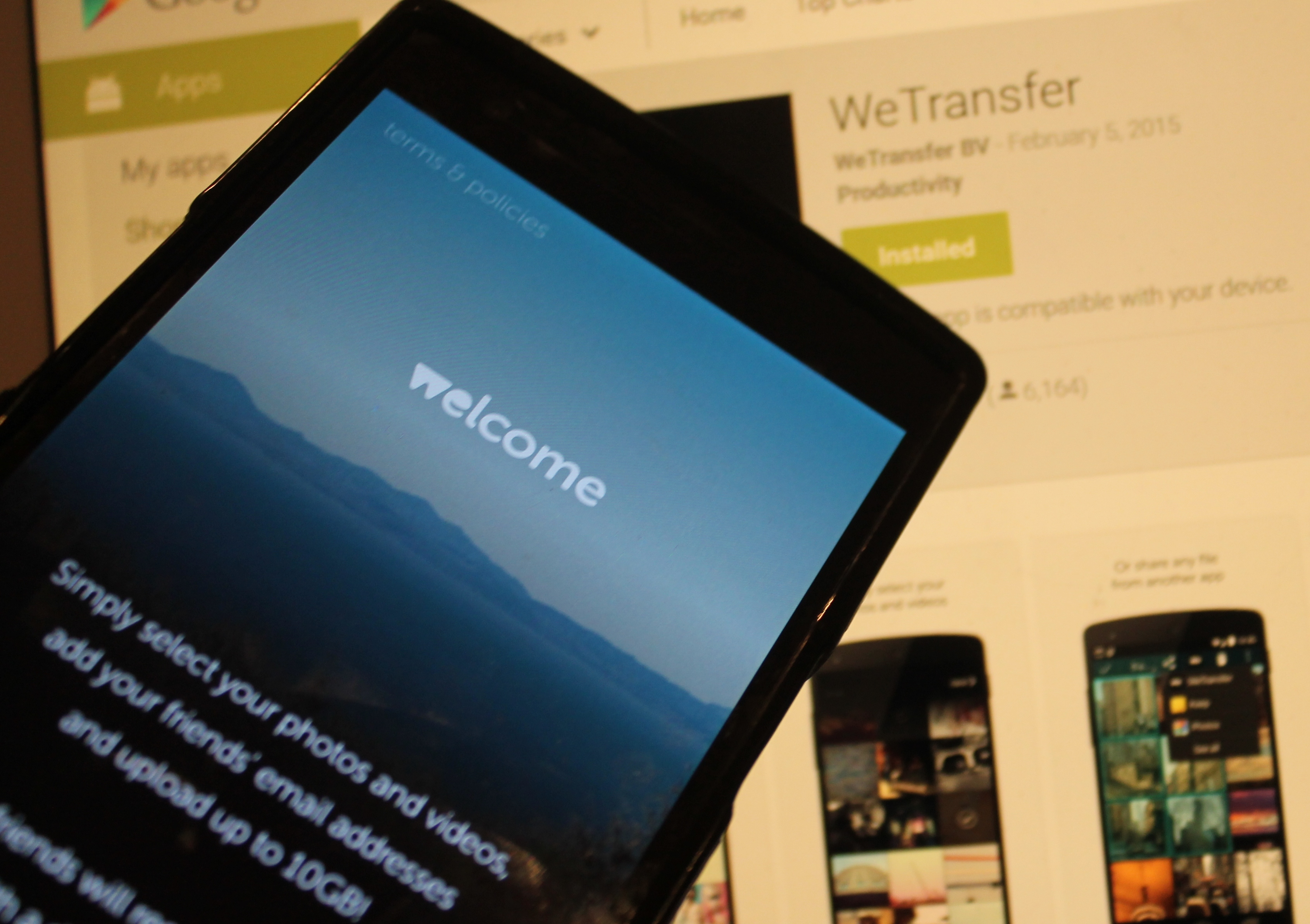 sync photos from iphone wetransfer nabs 25m to expand its easy file transfer 2385