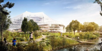 Google ditches concrete for flexible structures in new HQ proposal