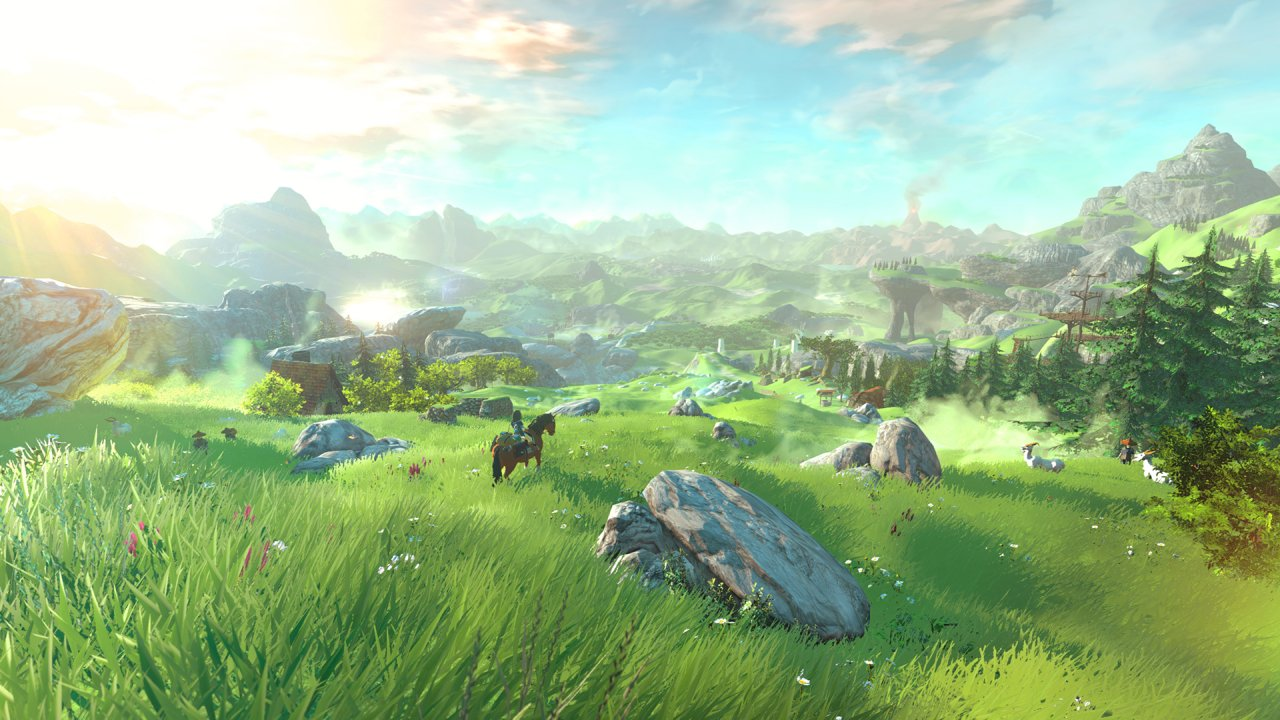 Zelda for the Wii U is due out in 2016.