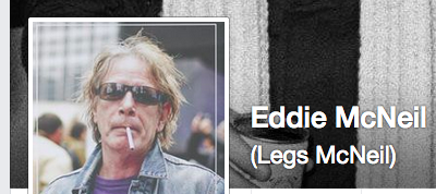 Punk rock journalist Legs McNeil also was recently locked out of his account.