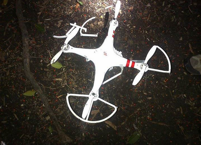 The DJI Phantom that crashed at the White House last month.