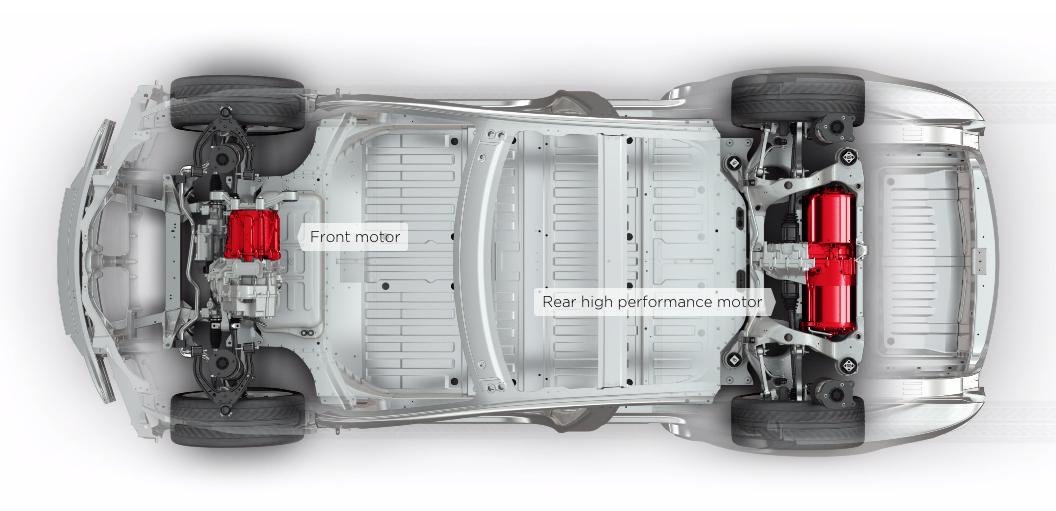 Tesla D: Два двигателя, полный привод, разгон до 100 км/ч ...
