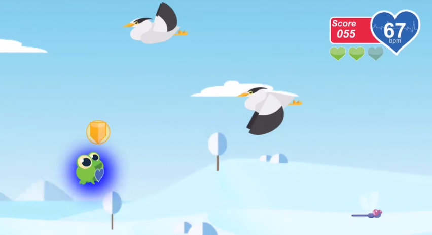 Skip a Beat plays like a zen version of Flappy Bird.