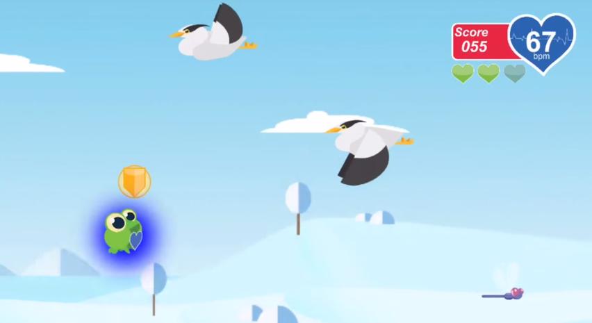 Skip a Beat plays like a zen version of Flappy Bird.