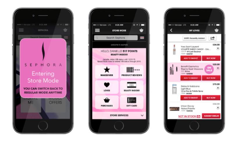 Sephora app