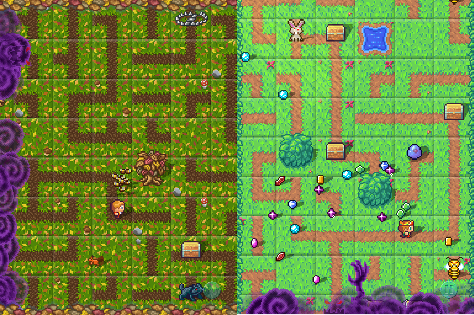 SwapQuest mashed the puzzle and role-playing genres together.