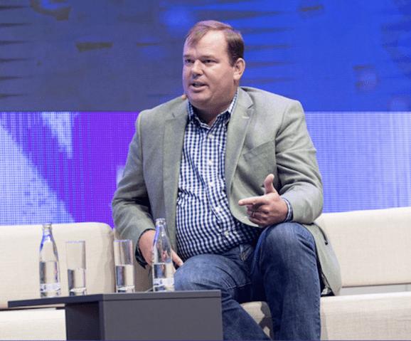 Tumblr's Lee Brown, speaking last year at a European digital conference