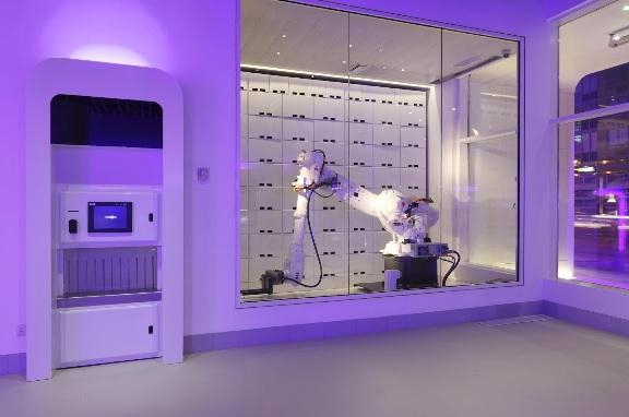 Robots Retina Scans And Infrared Sensors Hotels Go Hi