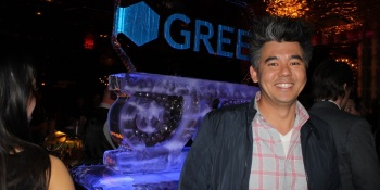 Gree's Andrew Sheppard is placing his bets to take original mobile games higher