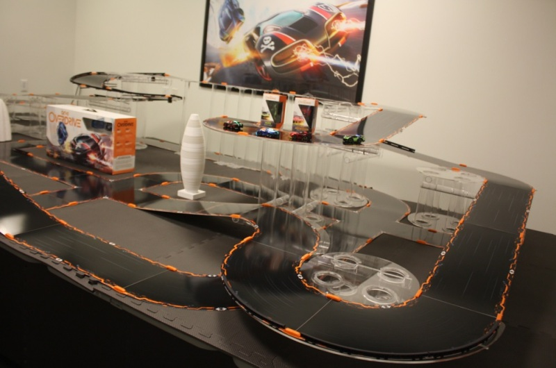 Anki Overdrive lets you create your own custom tracks.