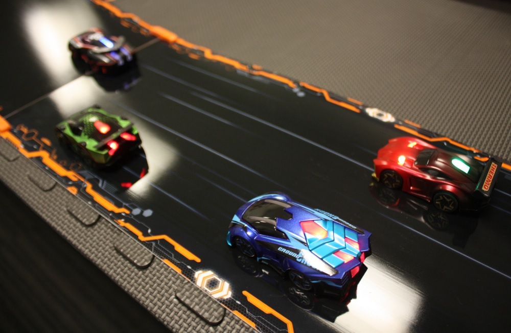 anki overdrive will overhaul the robot battle car racing game with customizable tracks. Black Bedroom Furniture Sets. Home Design Ideas