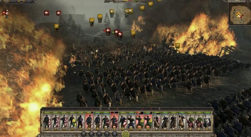 Total War: Attila. The world in flames.