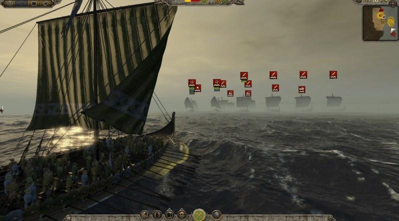 Naval battles are better in Total War: Attila.