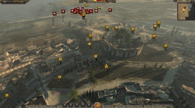 Another massive battle in Total War: Attila
