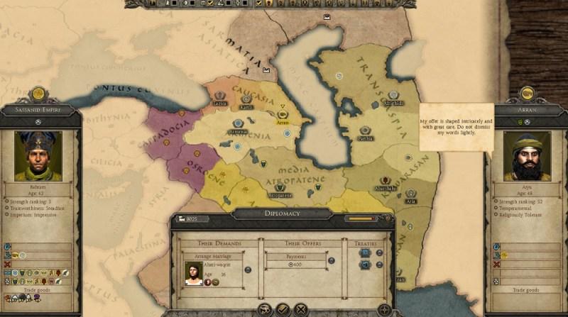Total War: Attila diplomacy