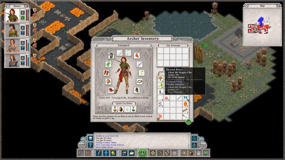 Avernum 2 gameplay