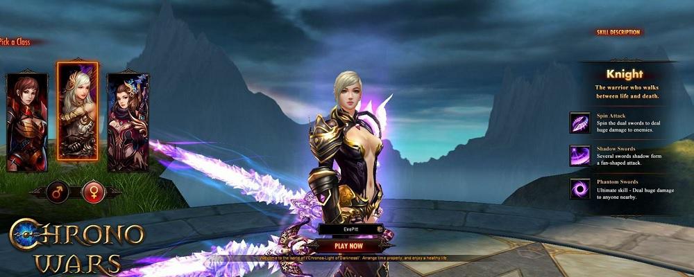 Chrono Wars: Light of Darkness