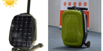 Coolpeds' new 'Tony' is part electric scooter, part briefcase, and part mobile charger