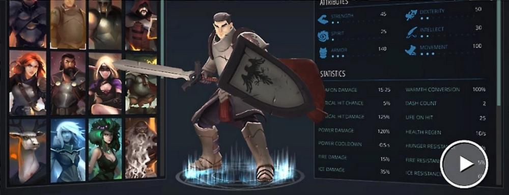 Crowfall character design
