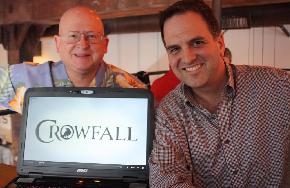 Gordon Walton and Todd Coleman of ArtCraft Entertainment.