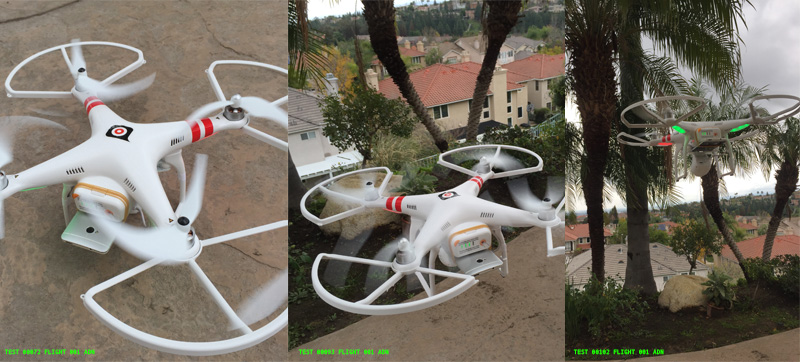 The Adnear drone over LA