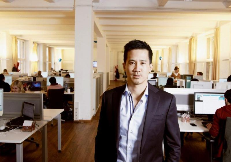 Gary Lin, CEO of Glispa